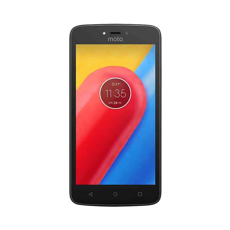 POS INDO - Motorola Moto C Smartphone - Black [16GB/ 1GB/ LTE]