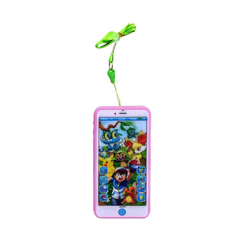 TMO Pokemon GO Handphone with Proyektor  ZY-129 Mainan Anak - Pink