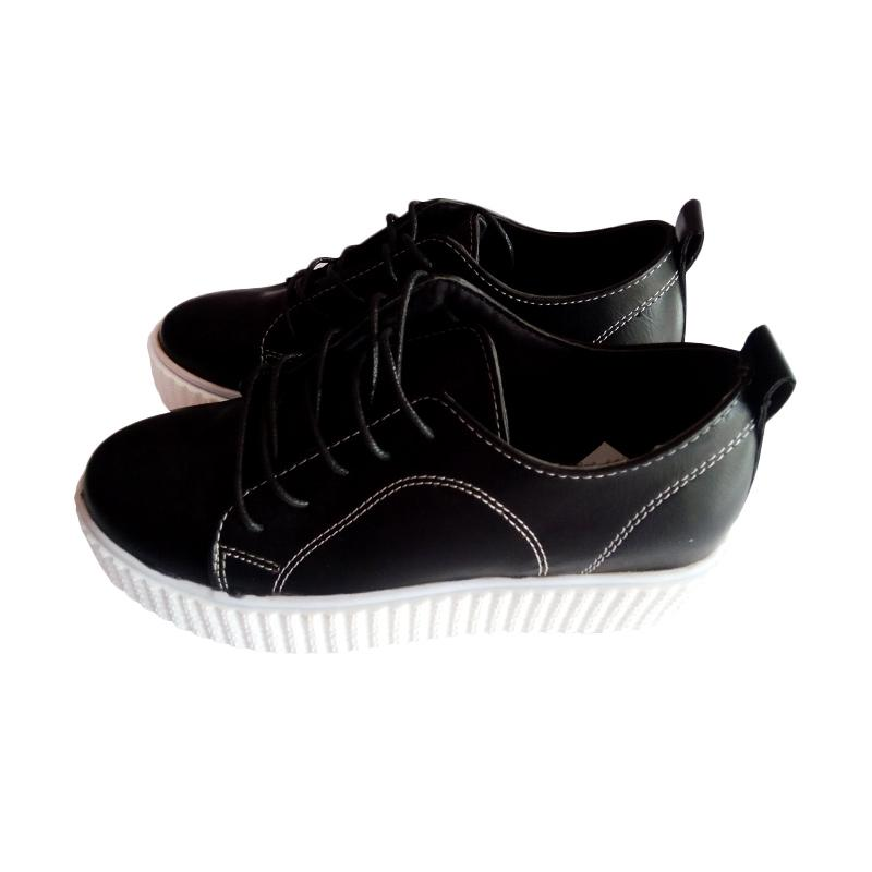 HRV-Z 616 Lady Shoes Wedges Sepatu Wanita - Hitam