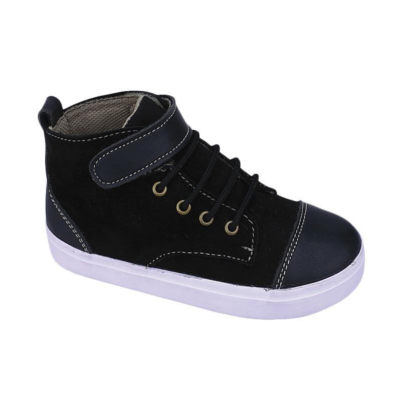 harga Syaqinah 87 Sepatu Boots Anak Laki-Laki - Hitam Blibli.com