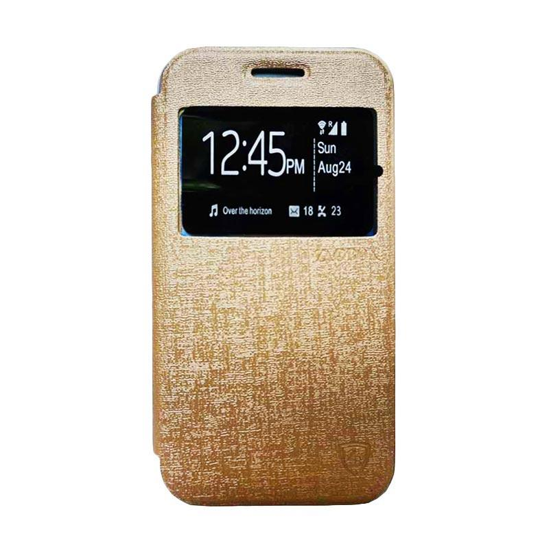 new style cda73 aa616 Zagbox Flip Cover Casing for Vivo V3 MAX - Gold