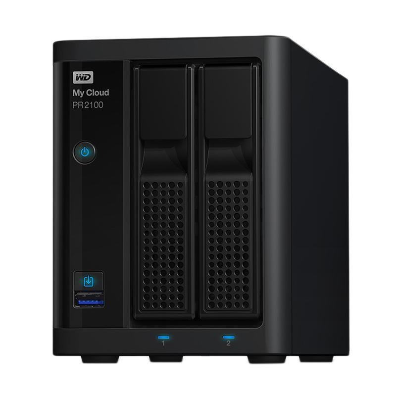 WD My Cloud Pro Series PR2100 NAS - Hitam [0 TB] - 9310481 , 16204693 , 337_16204693 , 7549000 , WD-My-Cloud-Pro-Series-PR2100-NAS-Hitam-0-TB-337_16204693 , blibli.com , WD My Cloud Pro Series PR2100 NAS - Hitam [0 TB]