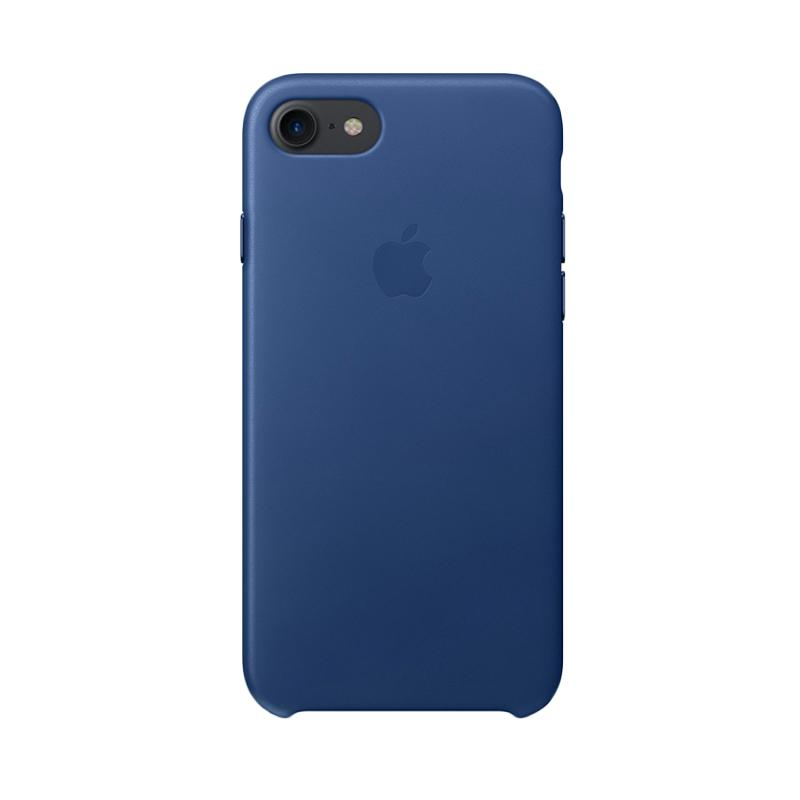 Apple Original Leather Casing for iPhone 7 - Sapphire