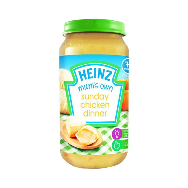 Heinz Mum's Own Sunday Chicken Dinner Makanan Bayi [200 g]