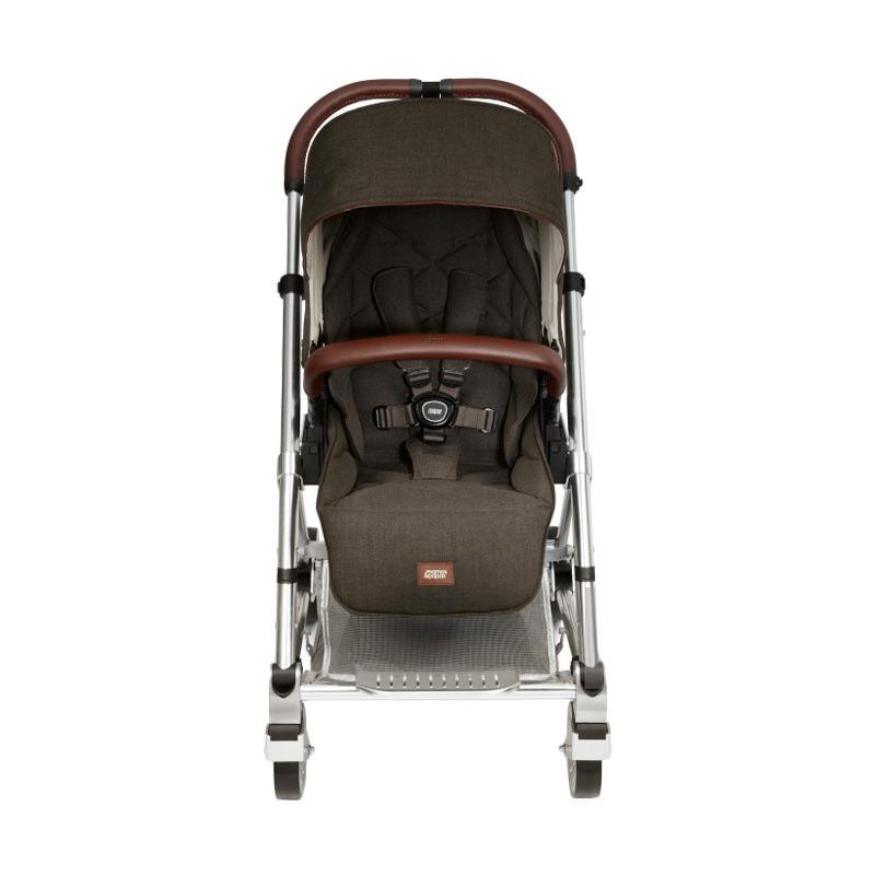 Mamas & Papas Stroller Bayi Urbo 2 Kereta Dorong Bayi - Khaki New