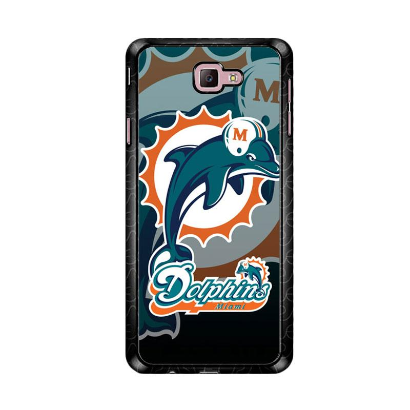 Flazzstore Miami Dolphins Nfl Z3270 Custom Casing for Samsung Galaxy J7 Prime