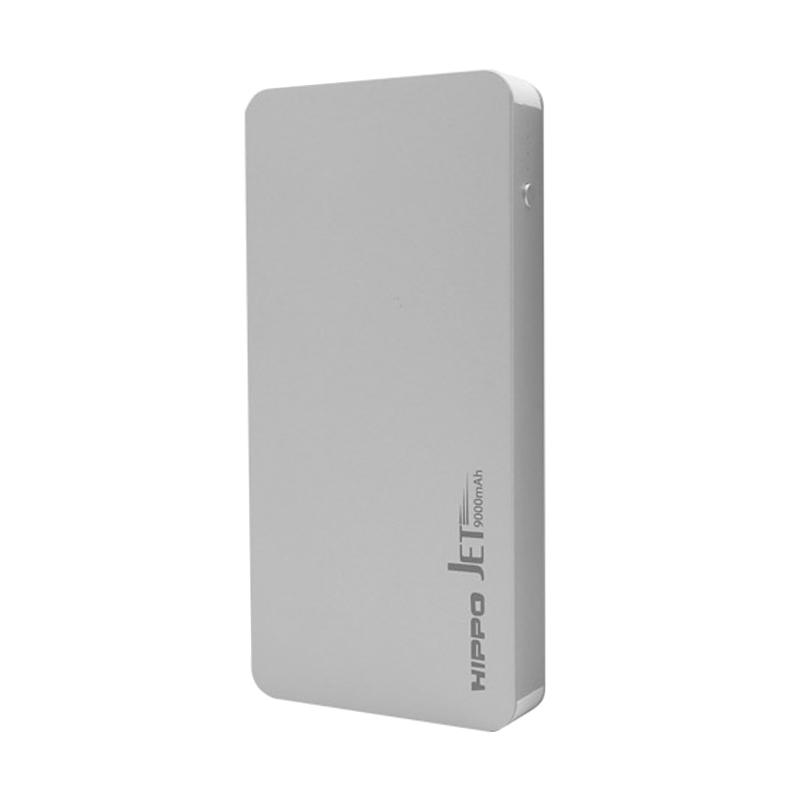 HIPPO Jet Powerbank - Silver [9000 mAh/ Simple Pack]