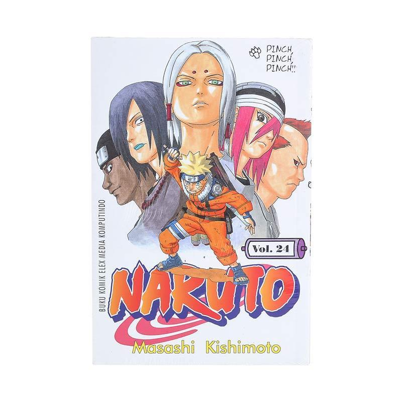 Elex Media Komputindo Naruto 24 200018063 by Masashi Kishimoto Buku Komik