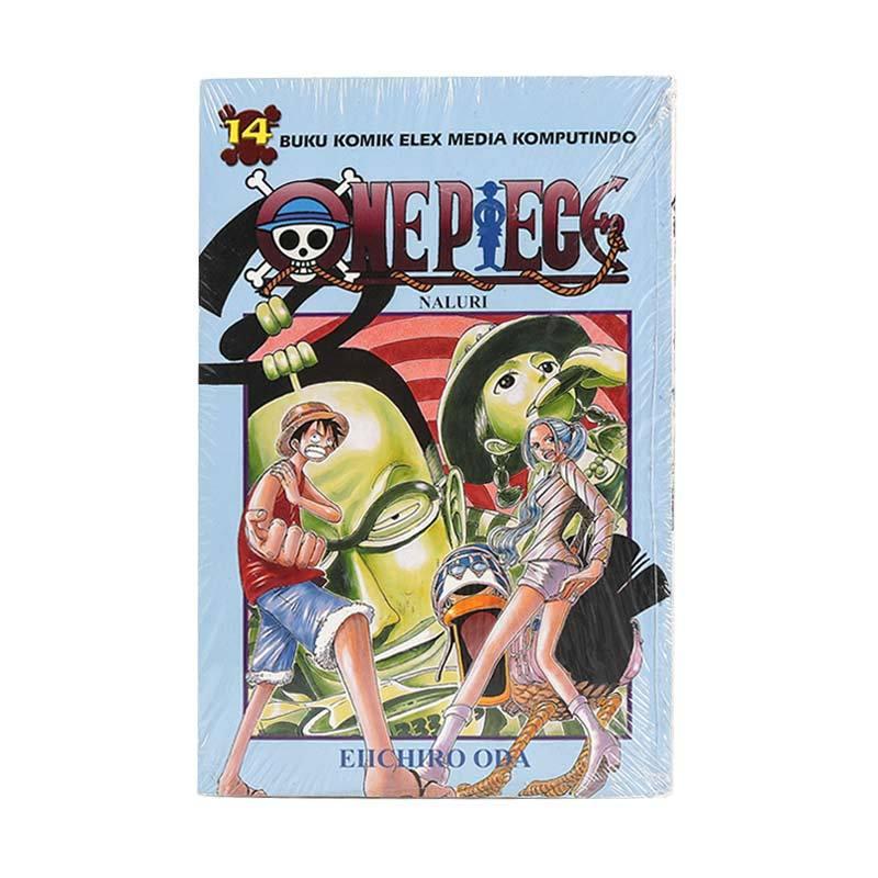 harga Elex Media Komputindo One Piece 14 200020058 by Eiichiro Oda Buku Komik Blibli.com
