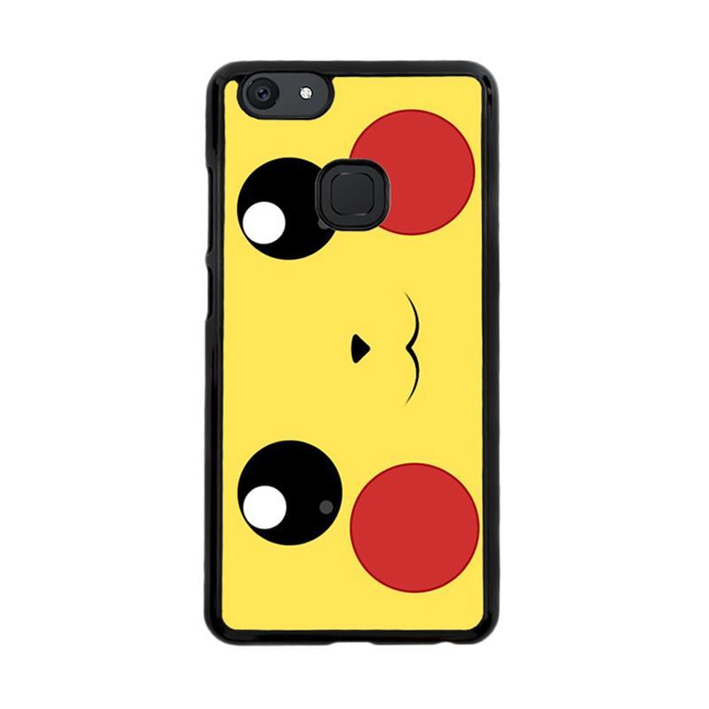 Flazzstore Pokemon Pikachu Poket Monster Case F0580 Custom Casing for Vivo V7