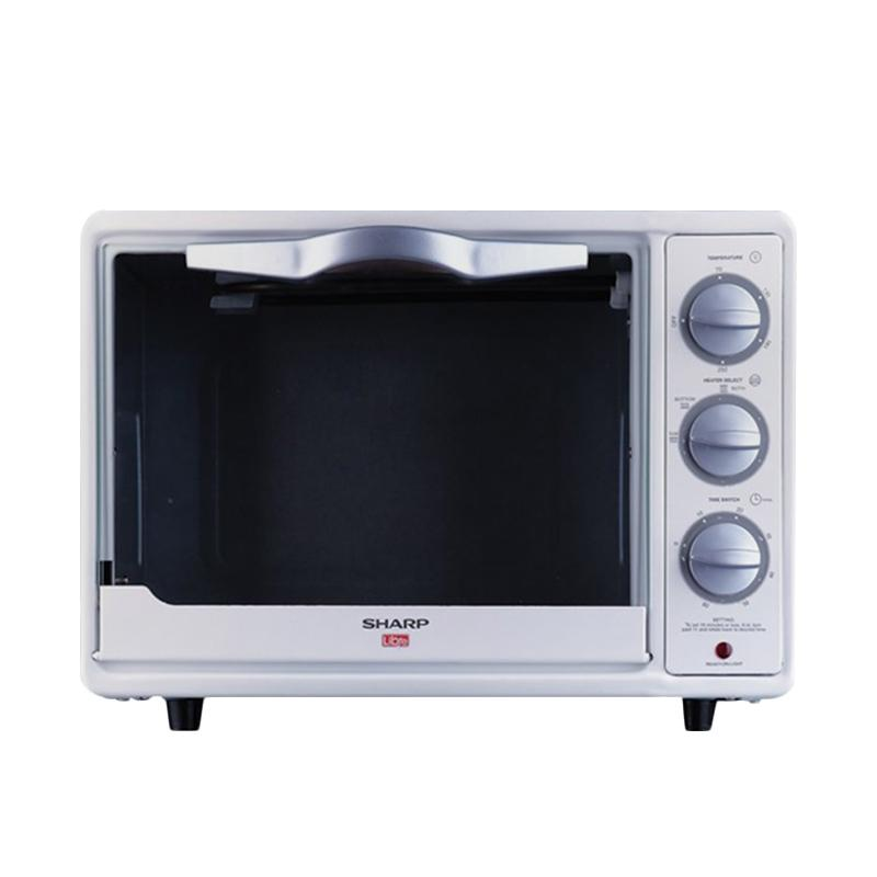 SHARP EO-18L-W Oven - Putih [18 L]