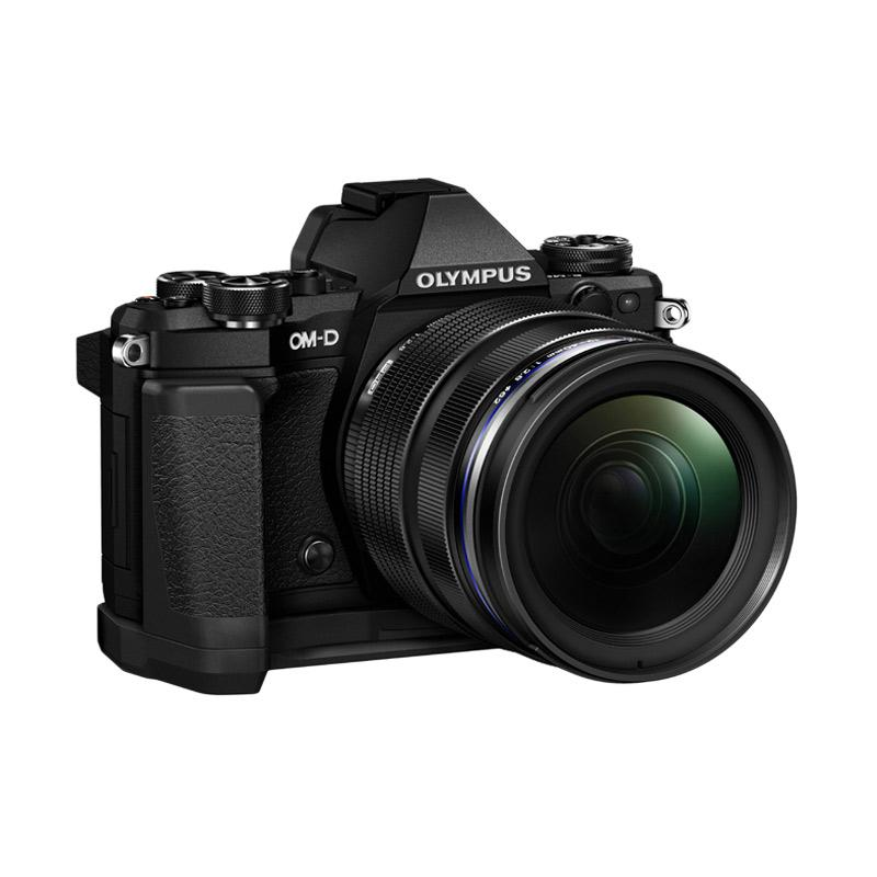 harga Olympus OMD EM5 MARK II Lens 12 - 40mm f2.8 PRO Kamera Mirrorless - Black Blibli.com