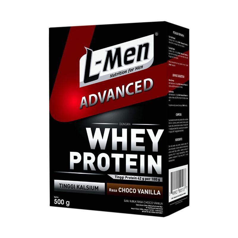 harga L-Men Hi Protein Whey Advanced Choco Vanilla Minuman Kesehatan Blibli.com