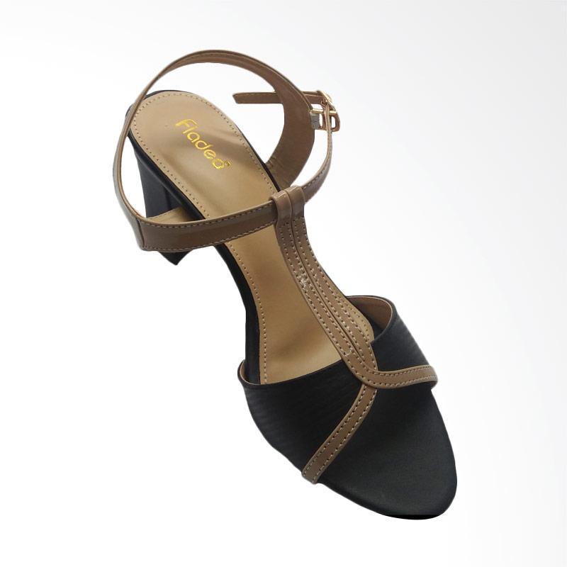 harga Fladeo CLDH251 High Heels Sepatu Wanita - Black Blibli.com