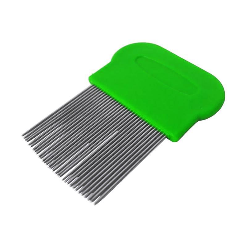 Jual Rendys Chem Lice Comb Sisir Serit Penghilang Kutu Ketombe - Hijau Terbaru - Harga Promo