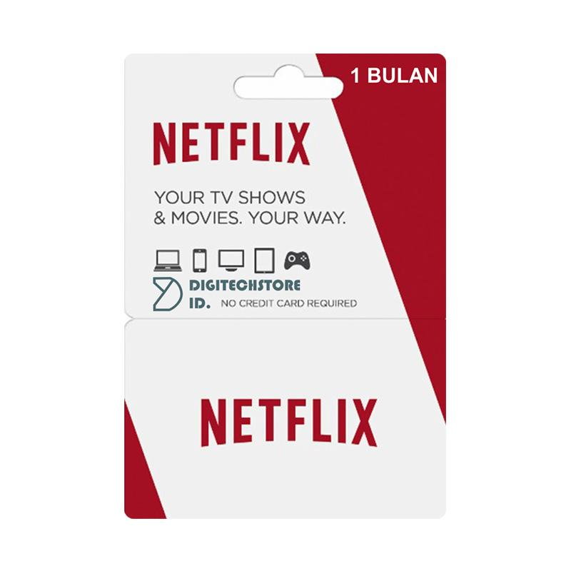 Netflix Premium Paket Streaming Movies TV Series 1 Bulan