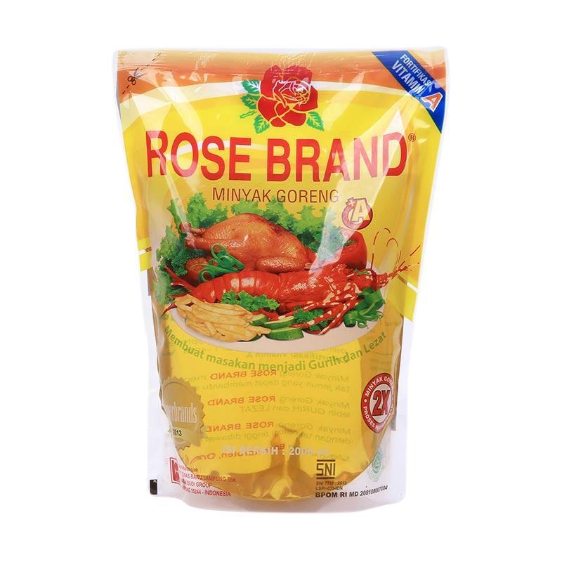 Rose Brand Minyak Goreng Pouch 2000 mL