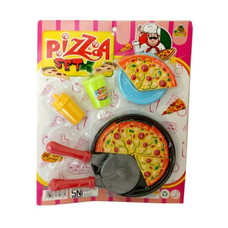 Jual Tiemy Toys Pizza Set Oct2201 Mainan Anak Online November 2020 Blibli Com