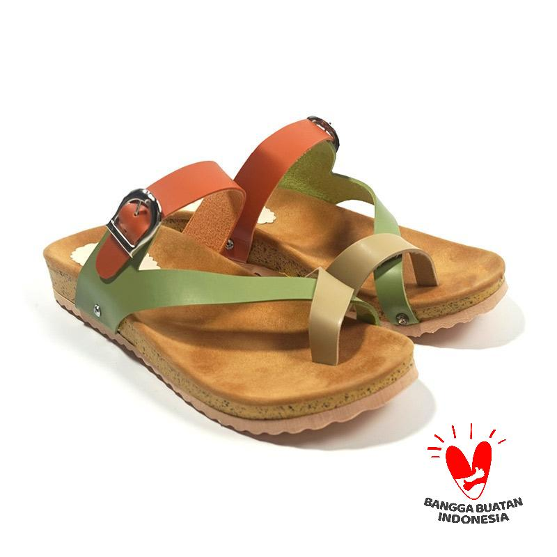 Isabel Adelia Rainbow Platform Sandal Wanita