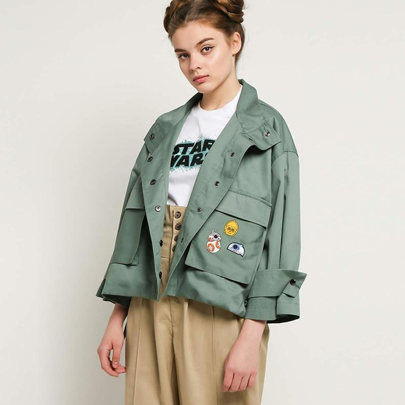 Cottonink Star Wars 09 13 Military Droid Chava Outer Wanita Millitary