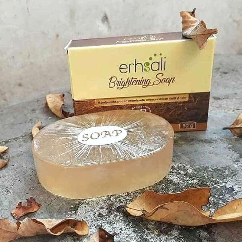 Jual Natural Nusantara Erhsali Brightening Soap Online Desember 2020 Blibli