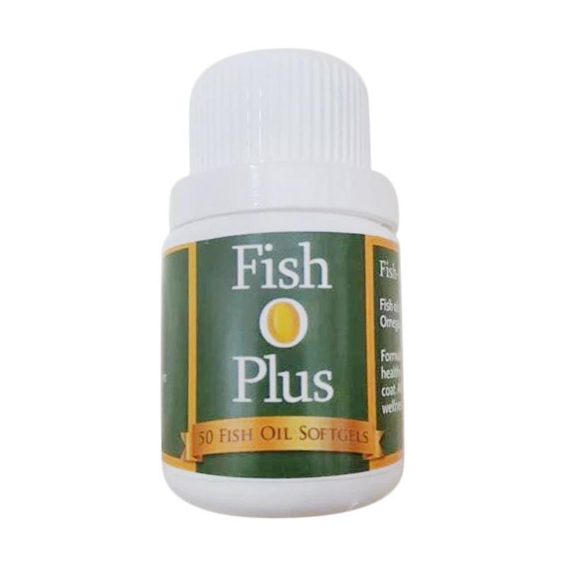 Fish O Plus vitamin kucing anjing