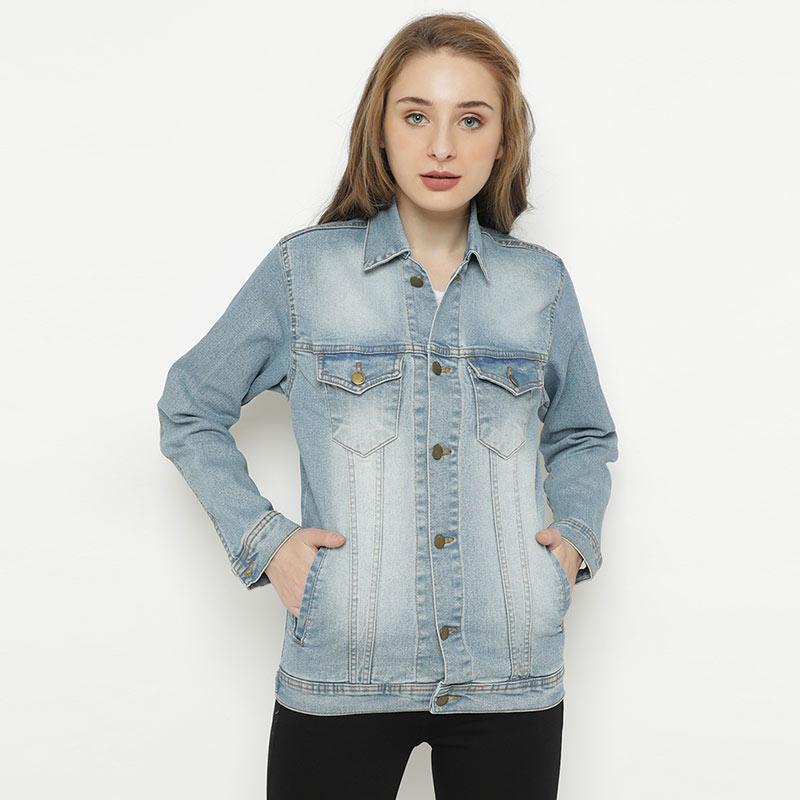Mobile Power Jeans Button Variation JL405 Ladies Jacket