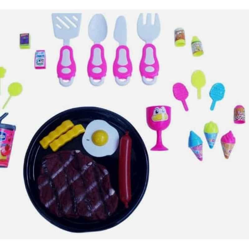 Jual Mainan Anak Masak Masakan Steak Set Little Chef Online November 2020 Blibli Com