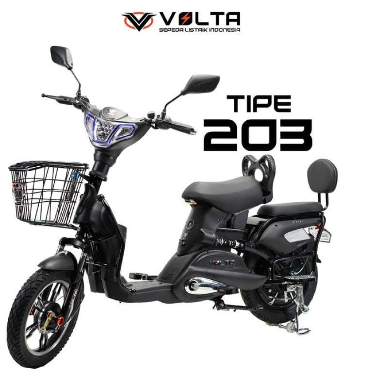 Volta Sepeda Listrik 203