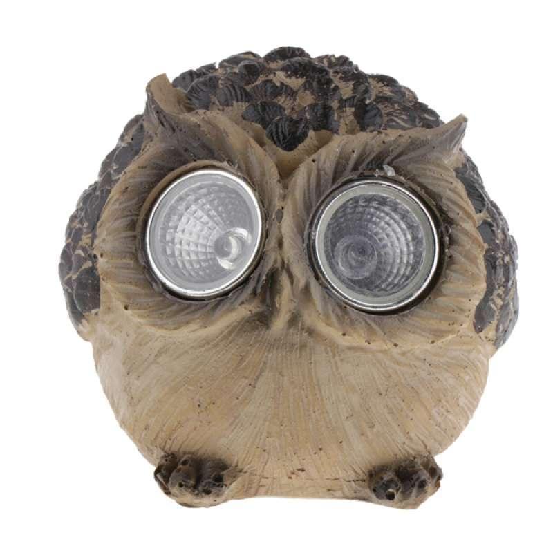 Jual Lawn Lamp Solar Powered Decorative Owl Cat Garden Light For Yard Patio Online Desember 2020 Blibli