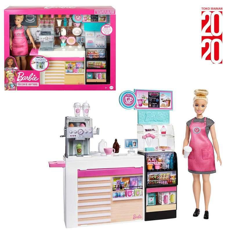 Jual Barbie Coffee Shop Include Barbie Ori Mainan Anak Gmw03 Online November 2020 Blibli Com