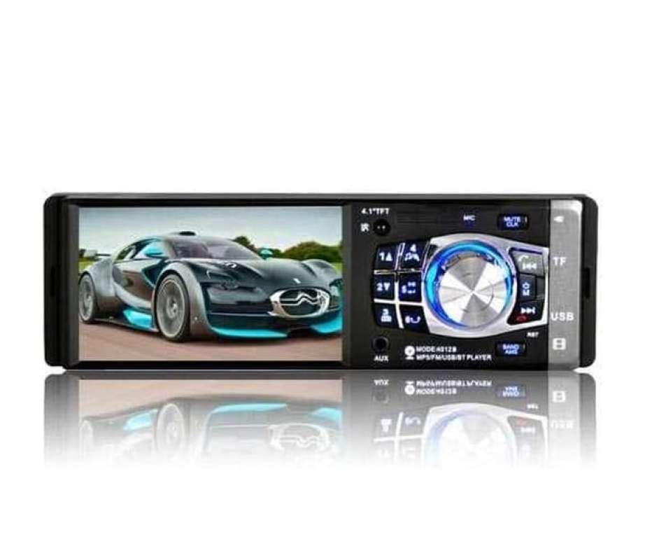 Jual Tape Mobil Single Din Mobil Lcd 4 1 Inch Fm Radio Rear Camera 4012b Terbaru Juni 2021 Blibli