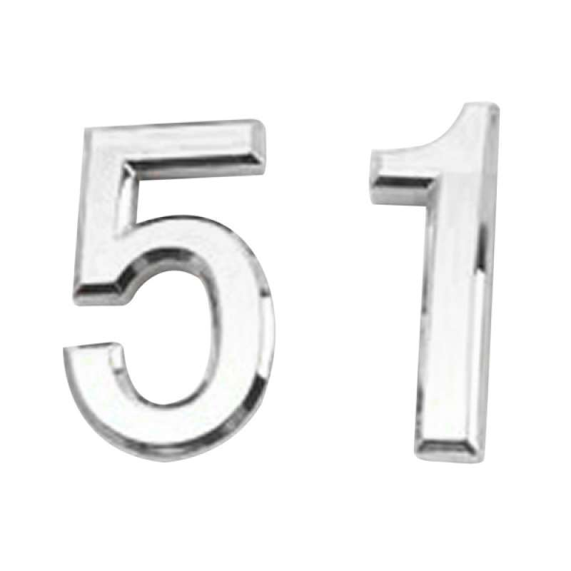 Door Number Contemporary Home Address 2pcs House Numbers Sign Plaque