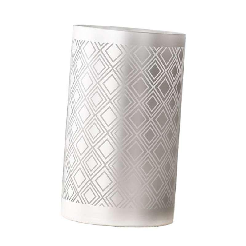 Jual Borosilicate Glass Flower Vase Flower Arrangement Flowerpot Art Craft Silver Online Oktober 2020 Blibli Com