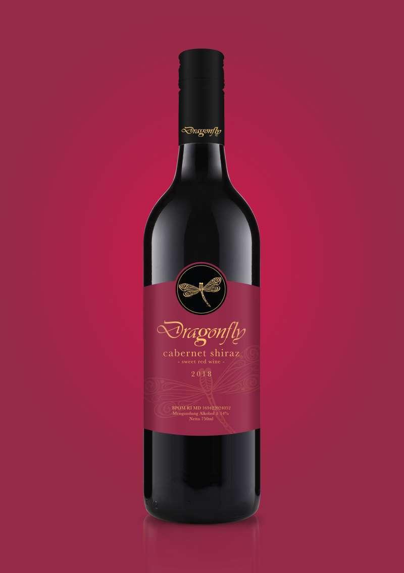 Jual Dragonfly Sweet Red Wine Online November 2020 Blibli Com