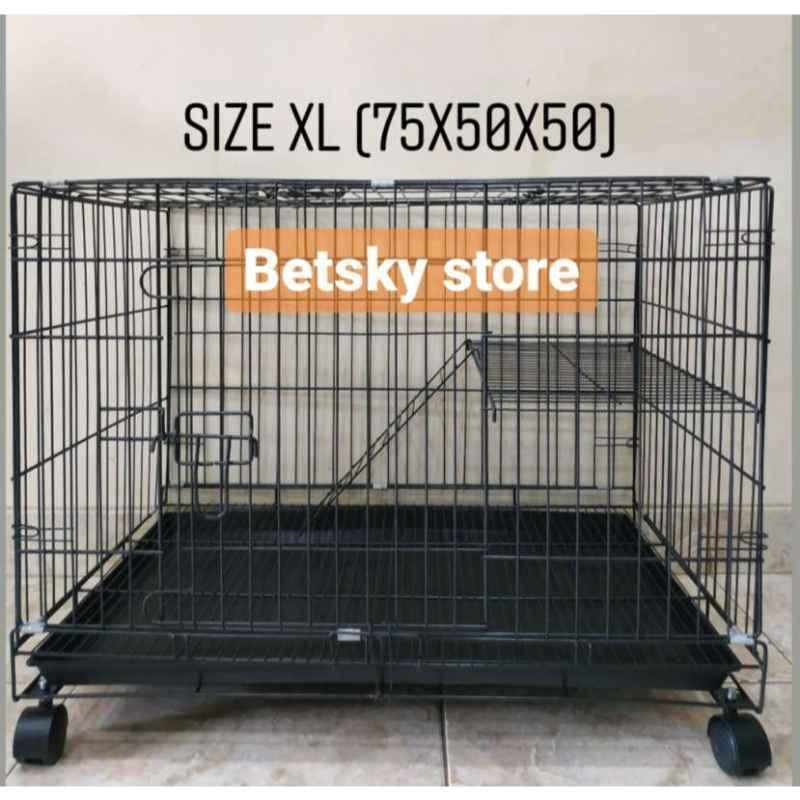 Jual Kandang Kucing Tingkat 1 Size Xl 75x50x100 Online Desember 2020 Blibli