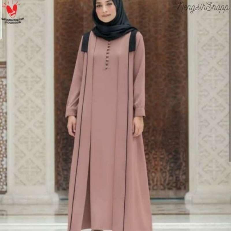 Jual Baju Gamis Syari Wanita Terbaru Shiya Dress Online Maret 2021 Blibli