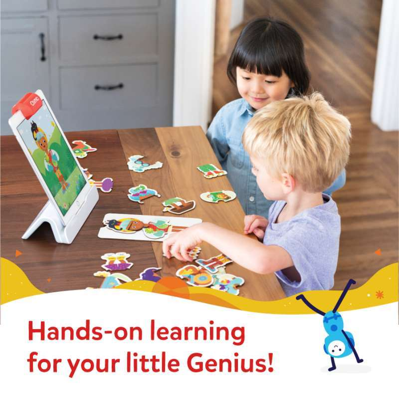 Osmo Little Genius Starter Kit Mainan Edukasi Untuk Anak Usia 3 5 tahun