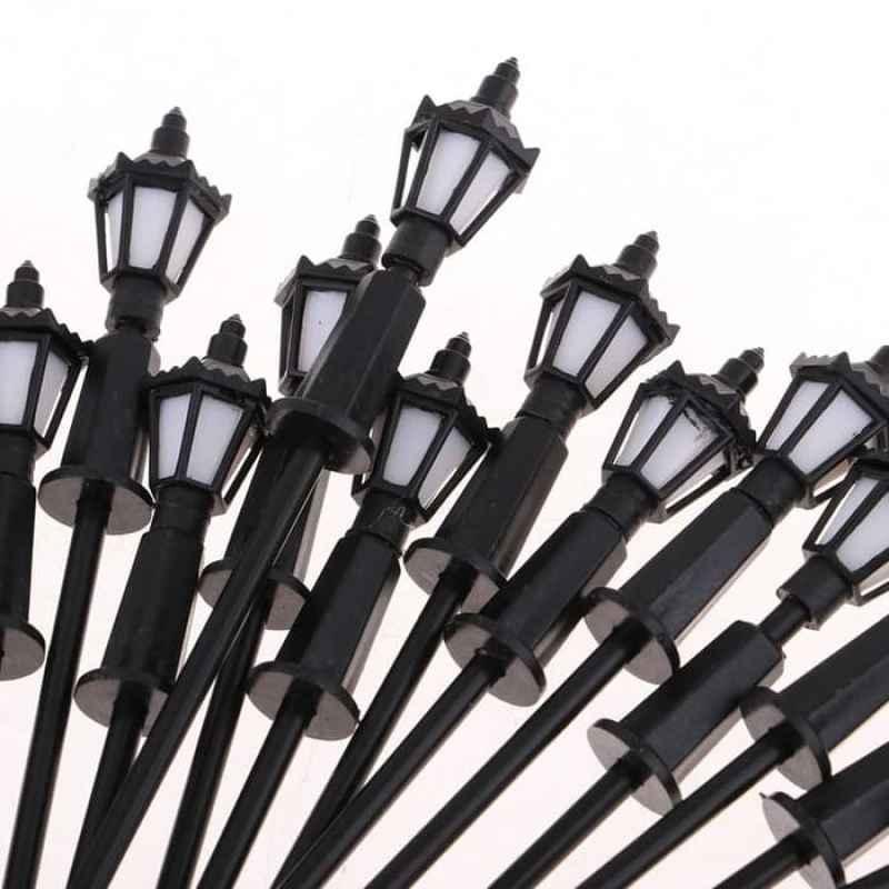 Jual Miniatur Lampu Jalan Taman Maket Dioarama Terrarium Mnoo30 Isi 5 Psc Online April 2021 Blibli