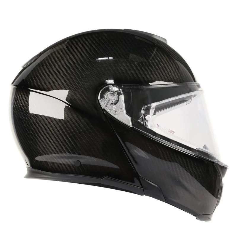 Jual Helm Agv Sport Modular Carbon Black Gloss Modular Helmet Online Maret 2021 Blibli