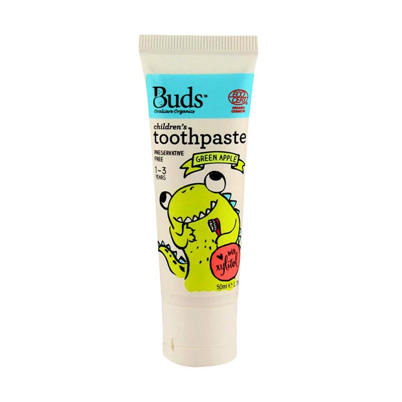 Buds Children's Toothpaste - Green Apple [50 mL/1 - 3 Year]