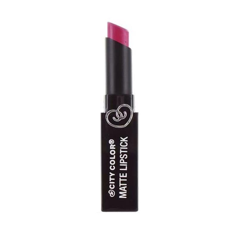 City Color Matte Lipstick - Pink Violet