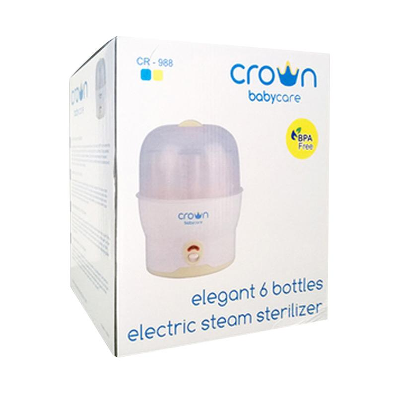 harga Crown Babycare CR-988 Elegant 6 Bottles Steam Sterilizer Blibli.com