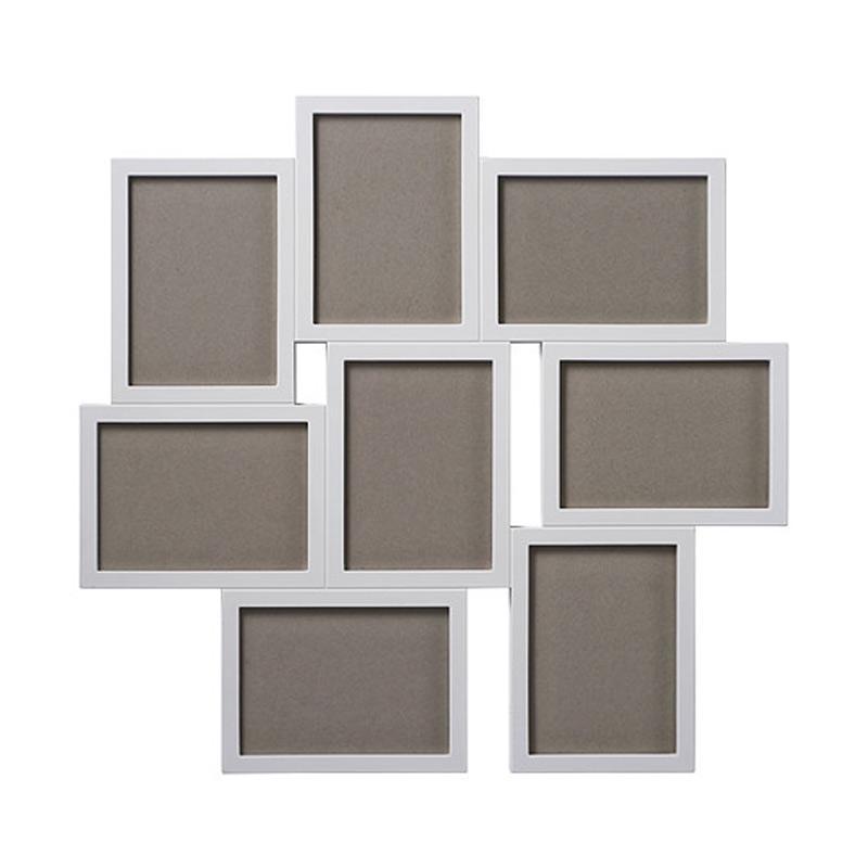 Ikea R Vaxbo Collage Frame for 8 Photos Putih