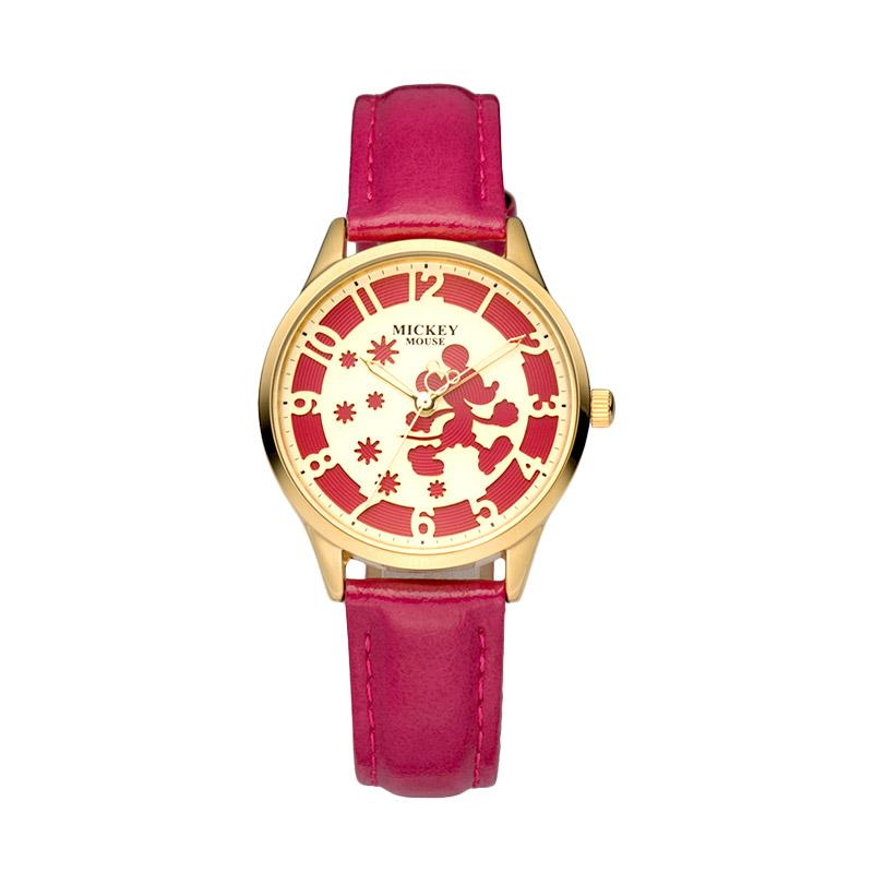 Disney MS11001-J Mickey Jam Tangan Wanita - Hot Pink