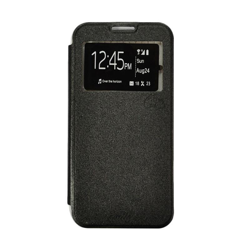 Jual SMILE Flip Cover Casing for Samsung Galaxy J2 Prime - Hitam Online - Harga &