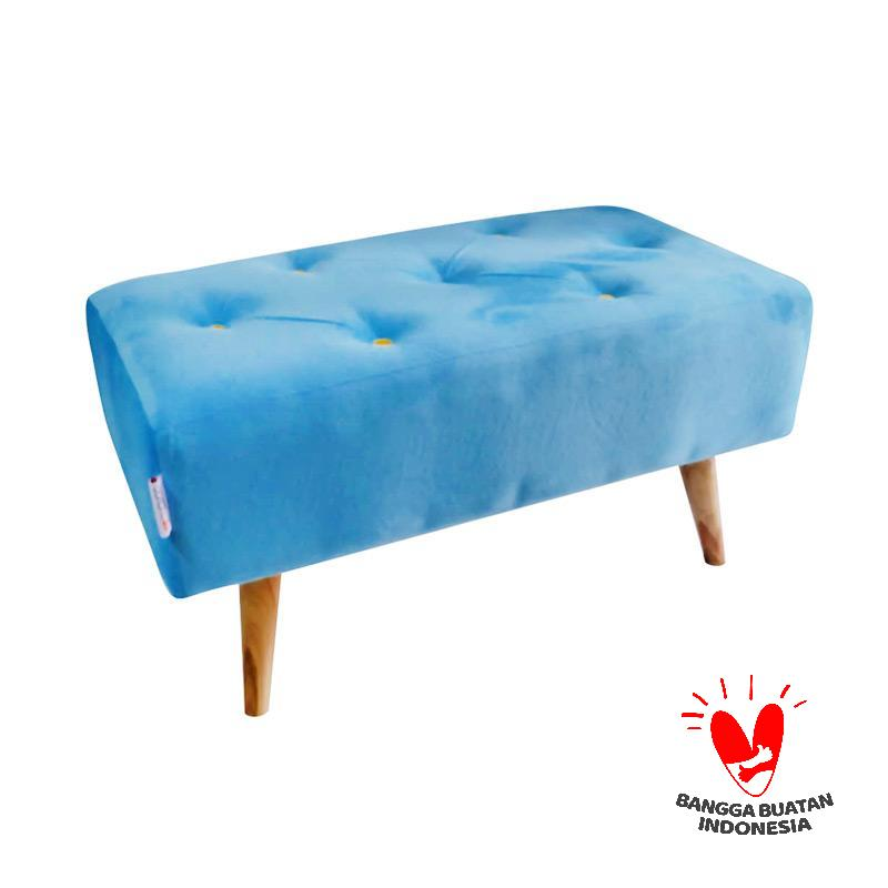 Ayoyoo Pepsi Blue Double Seat Bench - Sky Blue
