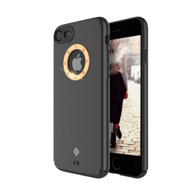 Totu Basis Series Casing for iPhone 7 - Gold Black