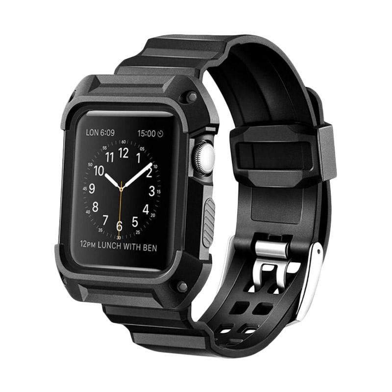 harga Wakaka Armor Rugged Band for Apple Watch 42mm - Hitam Blibli.com