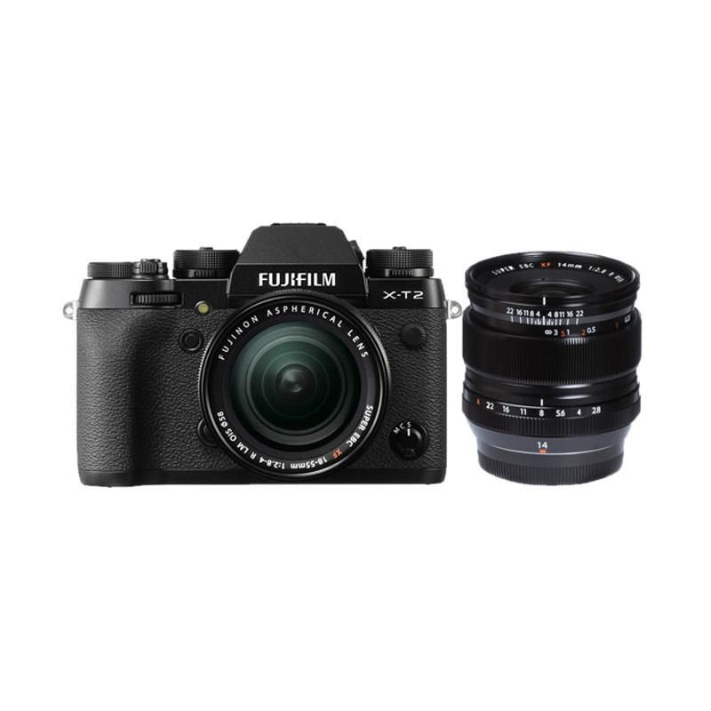 Fujifilm X-T2 KIT 18-55mm + 14mm Kamera Mirrorless
